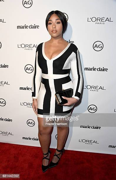 Jordyn Woods attends Marie Claire's Image Maker Awards 2017 at Catch LA on January 10 2017 in West Hollywood California
