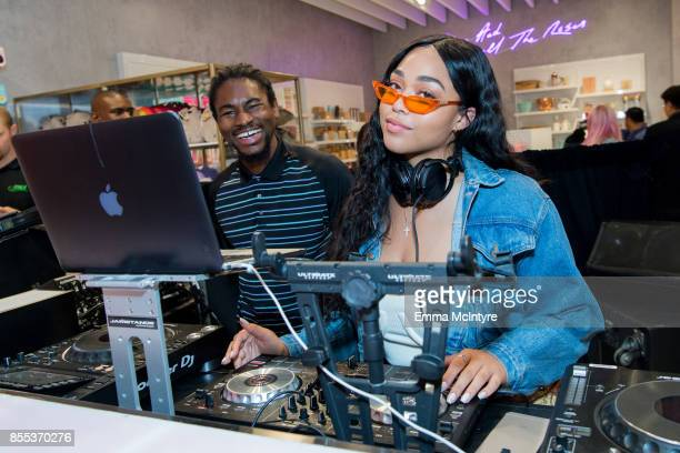 Jordyn Woods attends the store opening for Riley Rose at Glendale Galleria on September 28 2017 in Glendale California