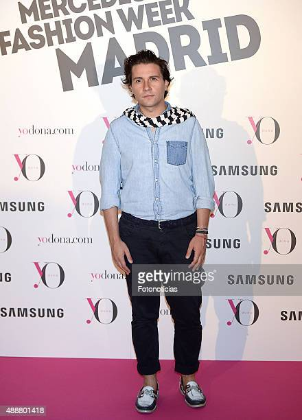 Jorge Acuna attends the 'Yo Dona' Party at the NH Collection Eurobuilding Hotel on September 17 2015 in Madrid Spain