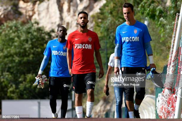 Jorge and Diego Benaglio of Monaco during training session of As Monaco on June 30 2017 in Monaco Monaco