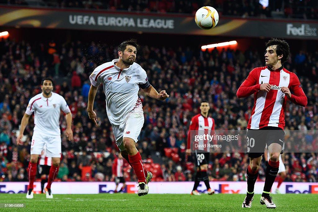 Athletic Bilbao v Sevilla - UEFA Europa League Quarter Final: First Leg