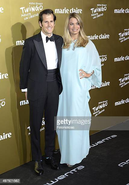 Jorge Benguria and Carla Goyanes attend the 2015 Marie Claire Prix de la Mode at Callao Cinema on November 19 2015 in Madrid Spain
