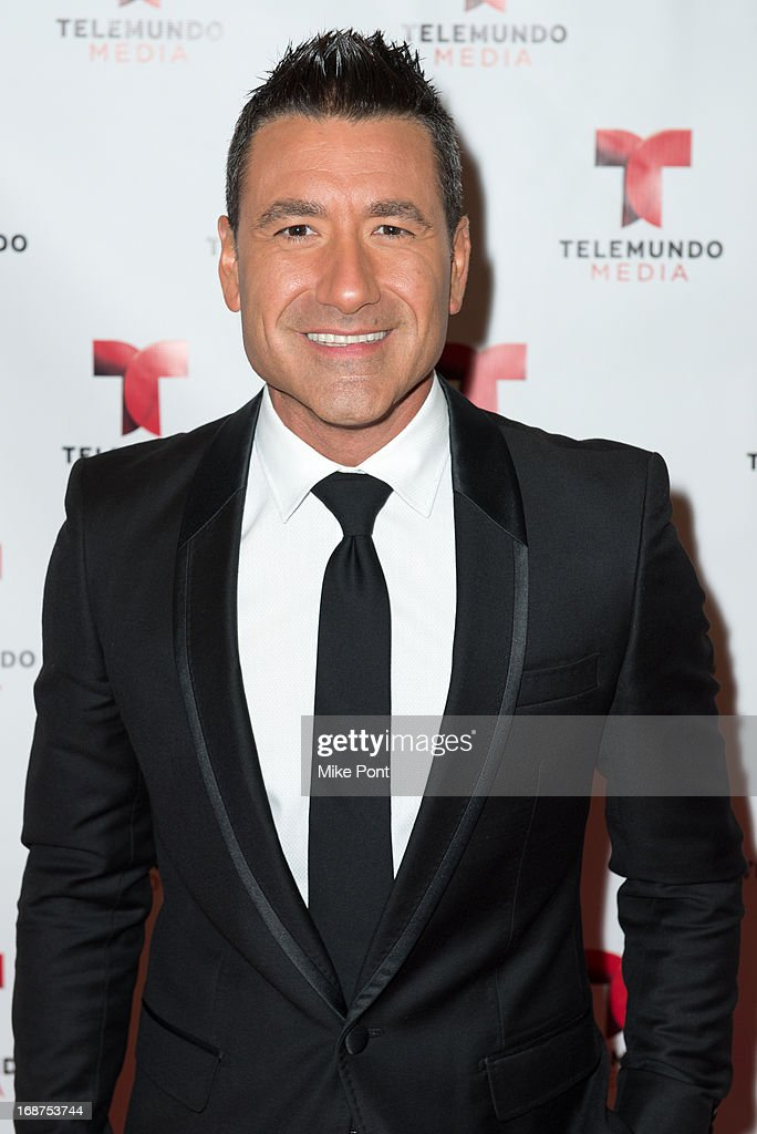Jorge Bernal attends the 2013 Telemundo Upfront at Frederick P. Rose Hall, Jazz at Lincoln Center on May 14, 2013 in New York City.