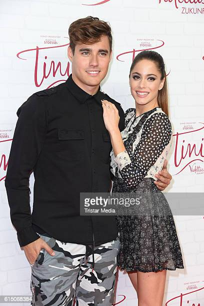 Jorge Blanco and Martina Stoessel attend the Showcase Of Tini Violettas Zukunft on October 16 2016 in Berlin Germany