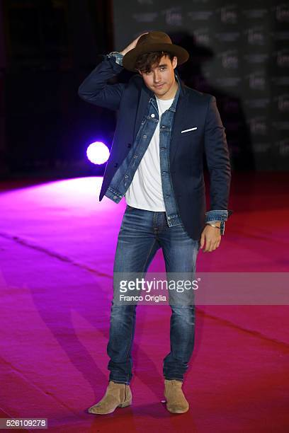 Jorge Blanco attends 'Tini The New Life Of Violetta' Premiere In Rome on April 29 2016 in Rome Italy