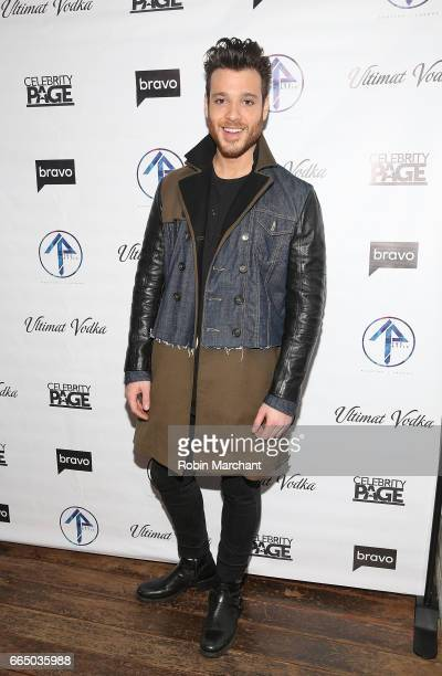 Jorge Bustillos attends 'The Real Housewives Of New York City' Season 9 Premiere Party at The Attic Rooftop Lounge on April 5 2017 in New York City