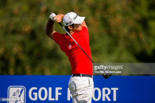 Jorge Campillo of Spain is seen during day two of the Saltire Energy Paul Lawrie Matchplay at Golf Resort Bad Griesbach on August 18 2017 in Passau...