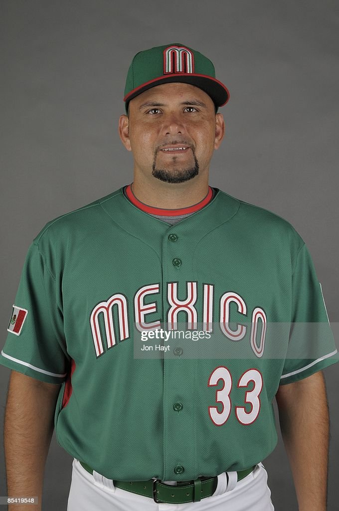Jorge Campillo of team Mexico poses during a 2009 World Baseball Classic Photo Day on Monday, March 2, 2009 in Tucson, Arizona.