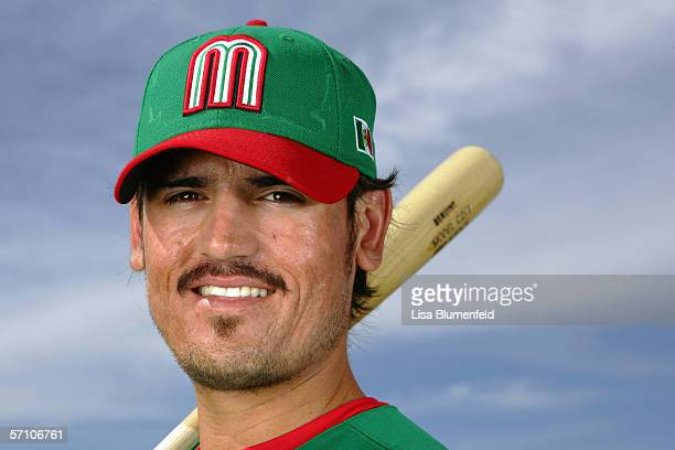 Jorge Cantu of Mexico poses for a portrait during the World Baseball Classic Photo Day on March 5 2006 in Tuscon Arizona
