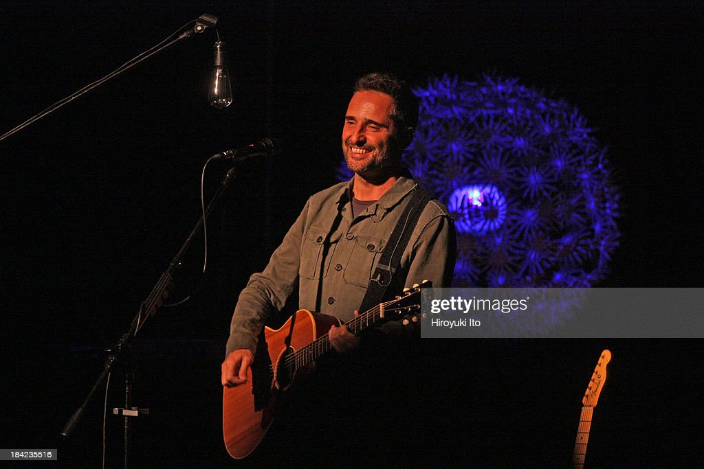Jorge Drexler performing at the New York Society for Ethical Culture on Tuesday night October 8 2013
