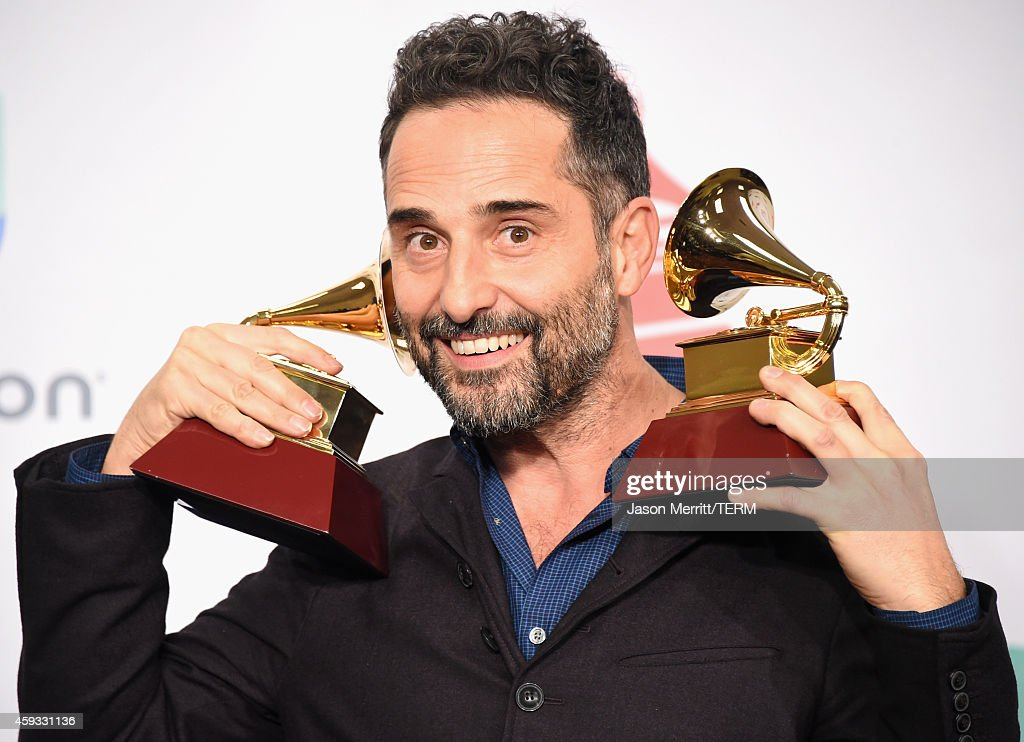 Jorge Drexler, winner of Record of the Year, attends the 15th Annual Latin GRAMMY Awards at the MGM Grand Garden Arena on November 20, 2014 in Las Vegas, Nevada.