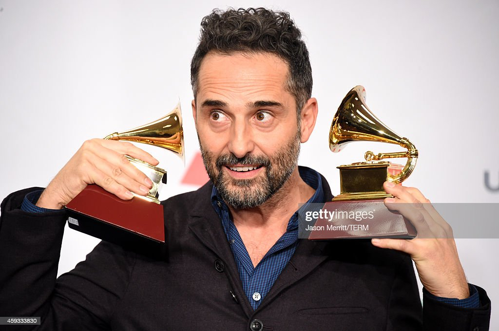 Jorge Drexler winner of Record of the Year attends the 15th Annual Latin GRAMMY Awards at the MGM Grand Garden Arena on November 20 2014 in Las Vegas...