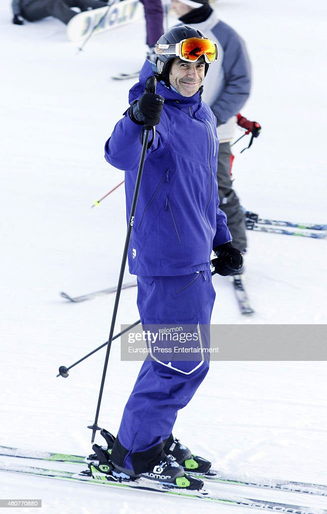 Jorge Fernandez Sighting In Baqueira - December 21, 2014