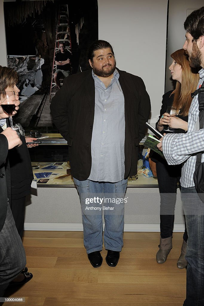 Jorge Garcia attends the opening the Vilcek Foundation's exhibition of