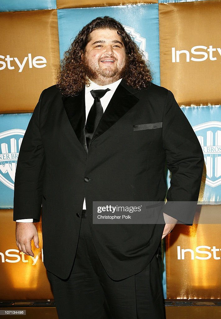 Jorge Garcia during In Style Warner Bros Studios Host 8th Annual Golden Globe Party Arrivals at Oasis Court Beverly Hilton Hotel in Beverly Hills...