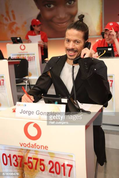 Jorge Gonzalez attends the 22nd RTL Telethon on November 23 2017 in Huerth Germany