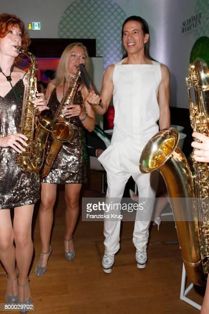 Jorge Gonzalez attends the 'Bertelsmann Summer Party' at Bertelsmann Repraesentanz on June 22 2017 in Berlin Germany