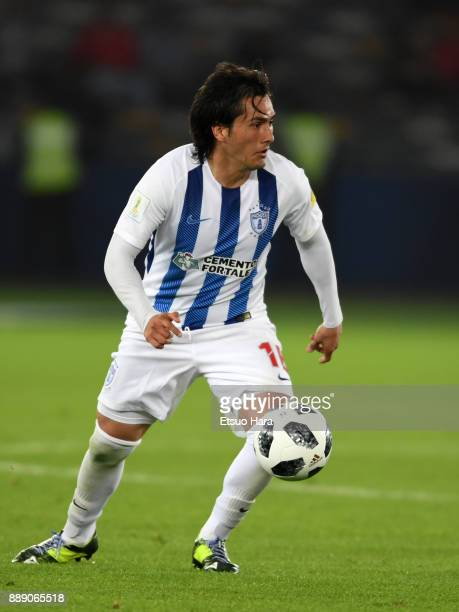 Jorge Hernandez of Pachuca in action during the FIFA Club World Cup match between CF Pachuca and Wydad Casablanca at Zayed Sports City Stadium on...