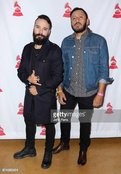 Jorge Holguin attends the CPI Event during the 18th annual Latin Grammy Awards at the Hardwood Suite at Palms Casino Resort on November 14 2017 in...