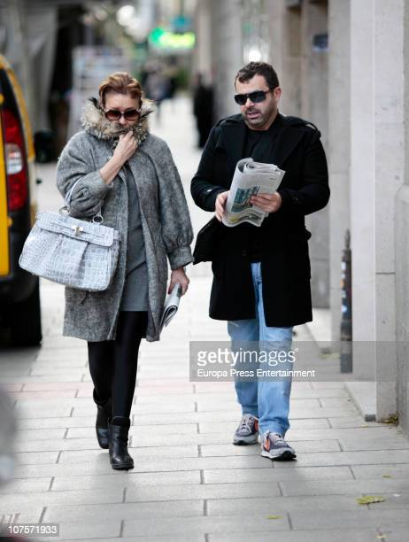 Jorge Javier Vazquez and Mila Ximenez are seen on December 14 2010 in Madrid Spain
