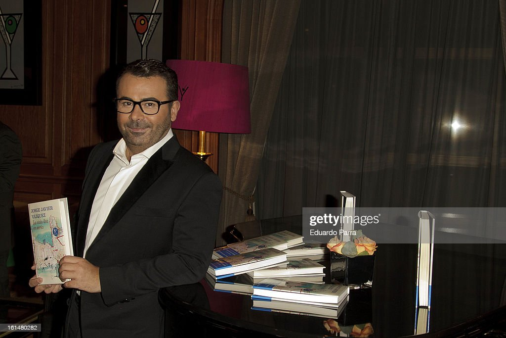 Jorge Javier Vazquez attends Jorge Javier Vazquez's Golden Book party at Gran Melia Fenix hotel on February 11, 2013 in Madrid, Spain.