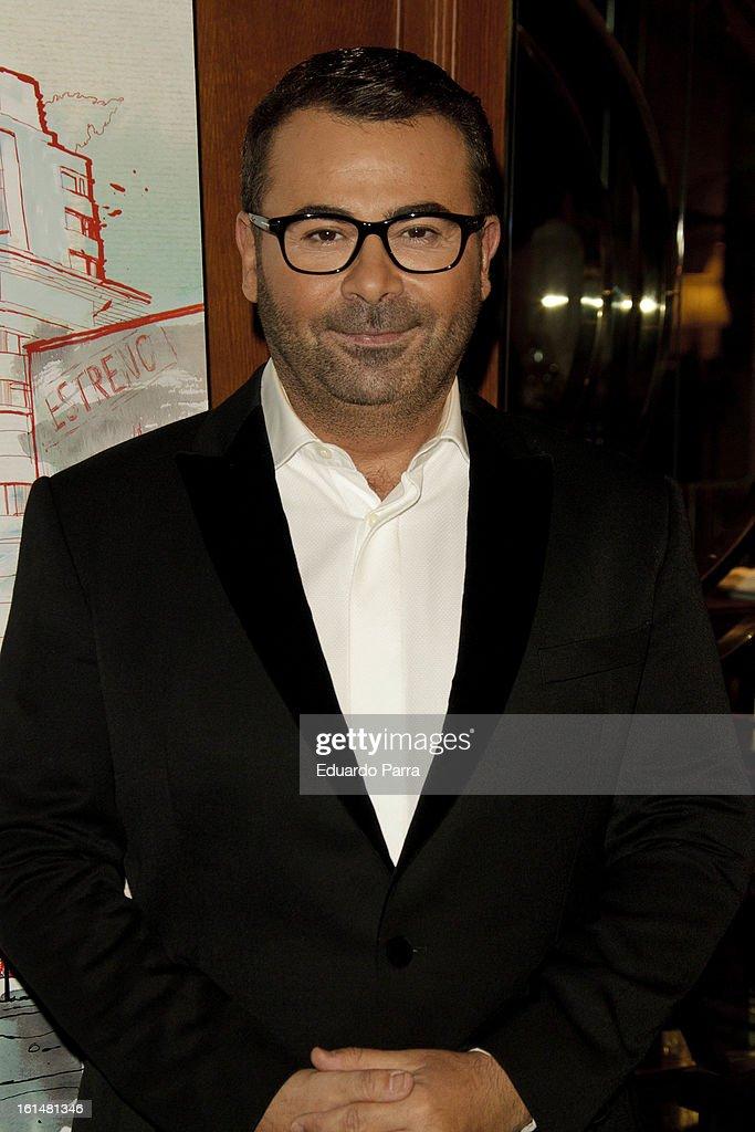 Jorge Javier Vazquez attends Jorge Javier Vazquez's Golden Book party at Gran Melia Fenix hotel on February 11, 2013 in Madrid, Spain.
