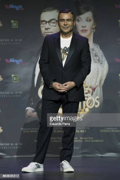 Jorge Javier Vazquez attends the 'Grandes Exitos' press conference at Rialto theatre on October 20 2017 in Madrid Spain