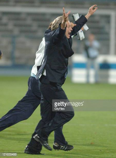 Jorge Jesus during the Portuguese Cup SemiFinal match between Belenenses and Braga on April 19 2007