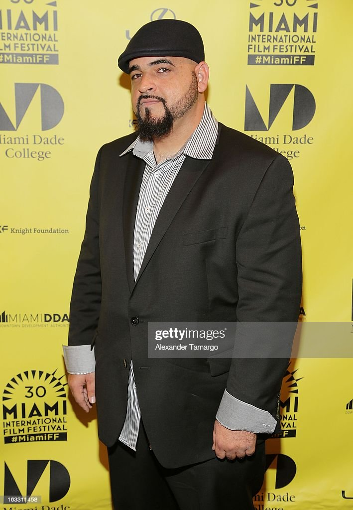 Jorge 'Jokes' Yanes attends 'Eenie Meenie Miney Moe' Premiere during the 2013 Miami International Film Festival at Gusman Center for the Performing Arts on March 7, 2013 in Miami, Florida.