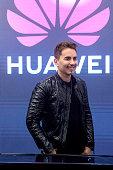 Jorge Lorenzo Inaugurates Espai Huawei Barcelona
