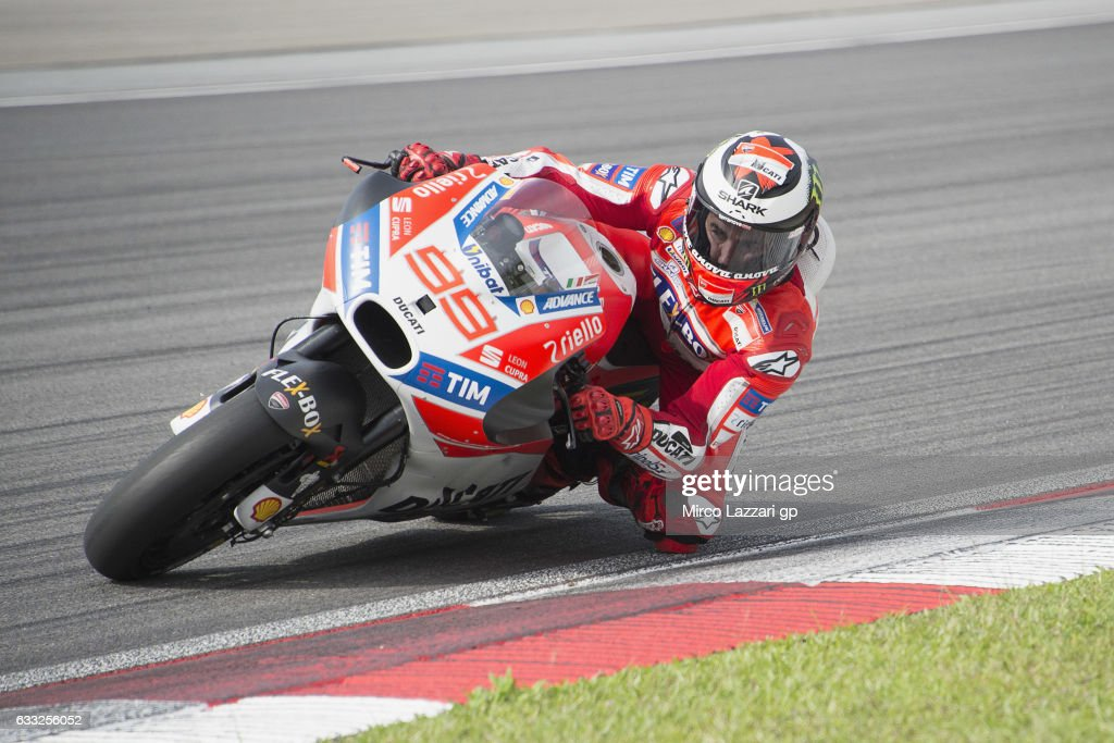 MotoGP Tests In Sepang