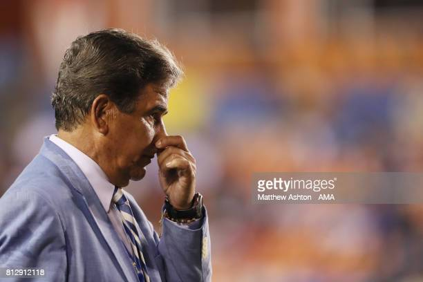 Jorge Luis Pinto the Head Coach / Manager Honduras during the 2017 CONCACAF Gold Cup Group A match between Honduras and French Guiana at BBVA Compass...