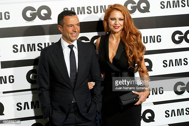 Jorge Mendes attends GQ Men of the Year Awards at Palace Hotel on November 5 2015 in Madrid Spain