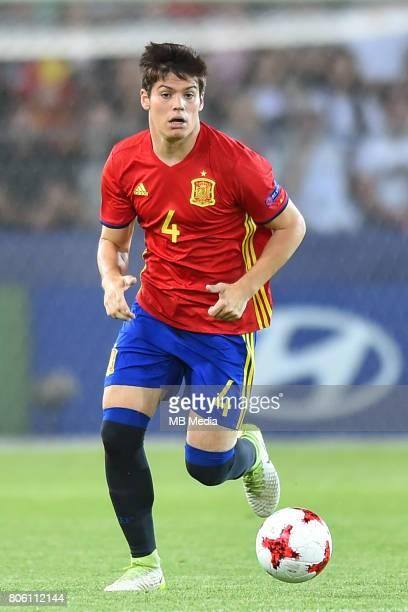 Jorge Mere during the UEFA European Under21 final match between Germany and Spain on June 30 2017 in Krakow Poland
