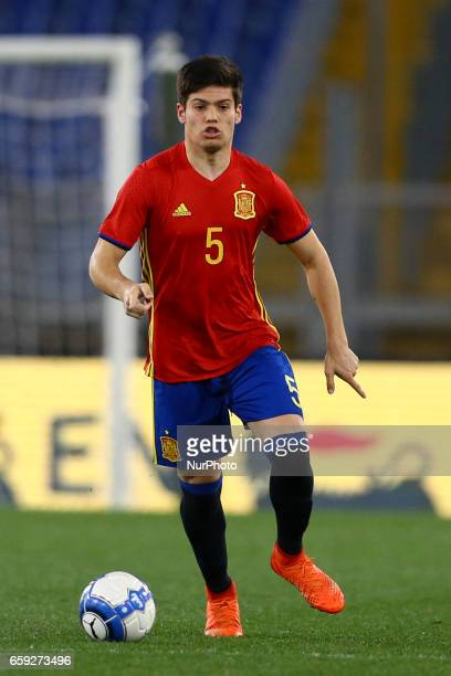 Jorge Mere of Spain at Olimpico Stadium in Rome Italy on March 27 2017