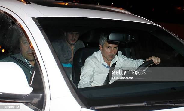 Jorge Messi father of Lionel Messi leave the USP Dexeus Hospital for second day after Messi Thiago Roccuzzo was born yesterday on November 03 2012 in...