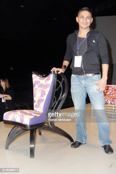 Jorge Ochoa attends LACMA Costume Council Attends the FIDM 2010 Debut Runway Show Rehearsal at Barkar Hanger on March 11 2010 in Santa Monica...