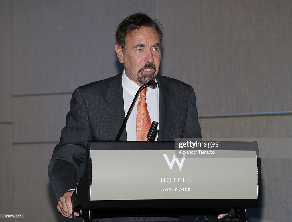 Jorge Perez attends the Haute Magazine Real Estate Summit at the W Hotel South Beach on September 10, 2013 in Miami, Florida.