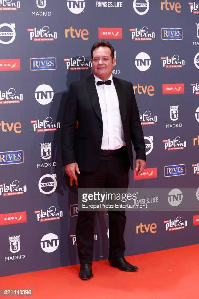 Jorge Perugorria attends Platino Awards 2017 at La Caja Magica on July 22 2017 in Madrid Spain