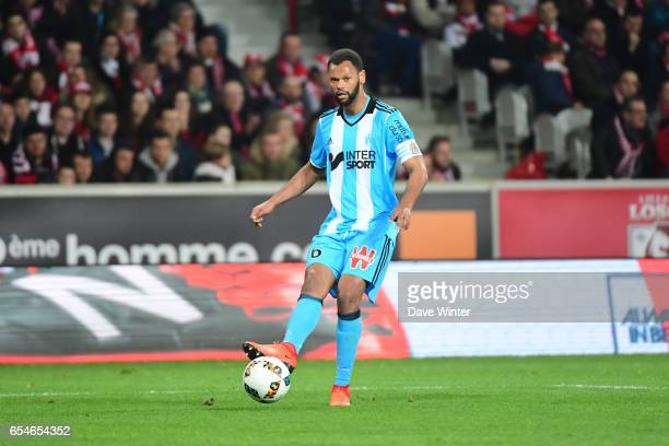 Jorge Pires Da Fonseca Rolando of Marseille during the Ligue 1 match between Lille OSC and Olympique de Marseille at Stade Pierre Mauroy on March 17...