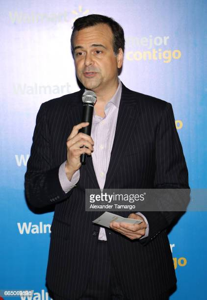 Jorge Plasencia is seen during Walmart's 'Mejor Contigo' event at COYA restaurant on April 5 2017 in Miami Florida