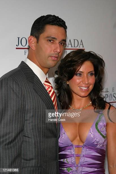Jorge Posada and his wife Laura Posada during 4th Annual Jorge Posada Foundation Gala Benefiting Craniosynostosis at Cipriani Wall Street in New York...