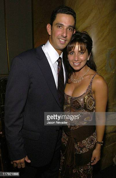 Jorge Posada and Laura Posada during First Annual 'Heroes for Hope' Gala and Benefit at Capitale in New York City New York United States