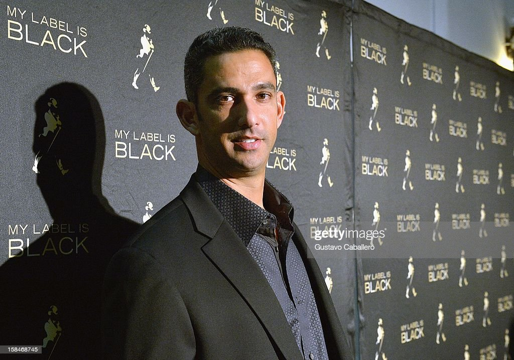 Jorge Posada attends the Johnnie Walker My Label is Black at Bongos on December 13, 2012 in Miami, Florida.
