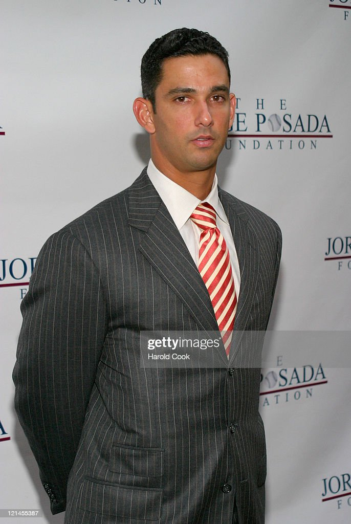 Jorge Posada during 4th Annual Jorge Posada Foundation Gala Benefiting Craniosynostosis at Cipriani Wall Street in New York City, New York, United States.