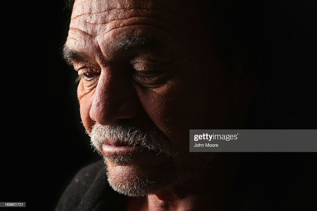 Jorge Rodriguez from Guatemala spends a night at the San Juan Bosco shelter for undocumented immigrants on March 9 2013 in Nogales Mexico Rodriguez...