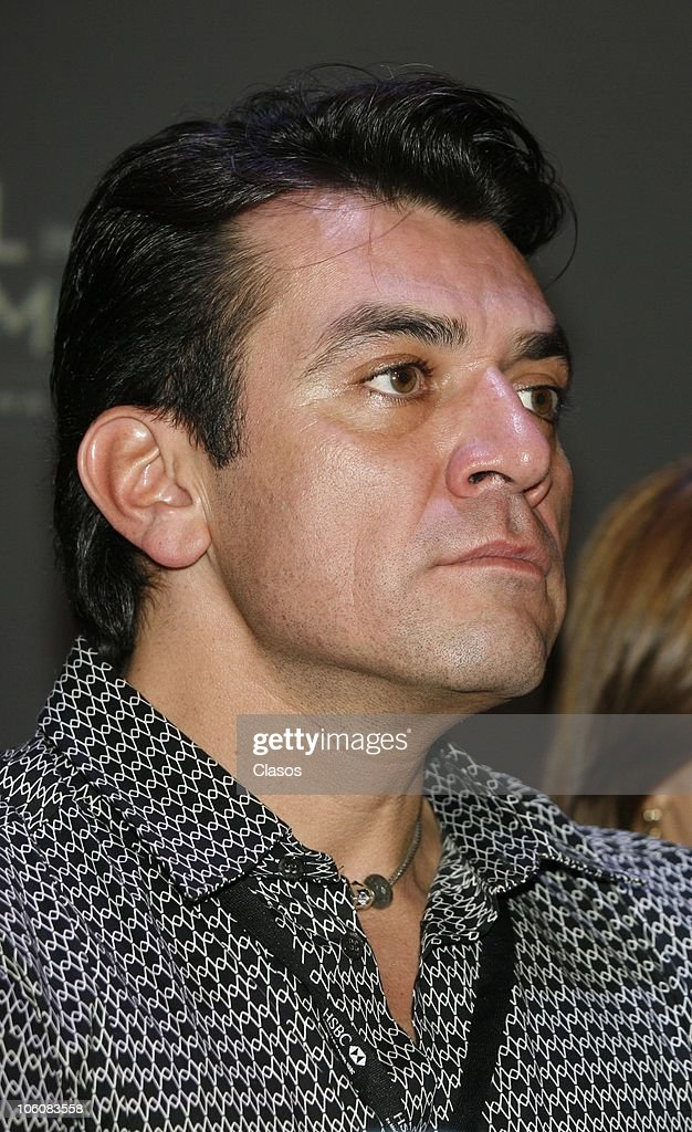 Jorge Salinas of the movie La Otra Familia, during a press conference as part of the 8th Morelia International Film Festival on October 23, 2010 in Morelia, Mexico.