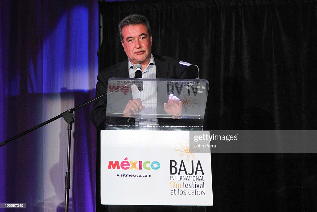 Jorge Sanches Sosa attends the Closing Night Gala during the Baja International Film Festival at Los Cabos Convention Center on November 17, 2012 in Cabo San Lucas, Mexico.