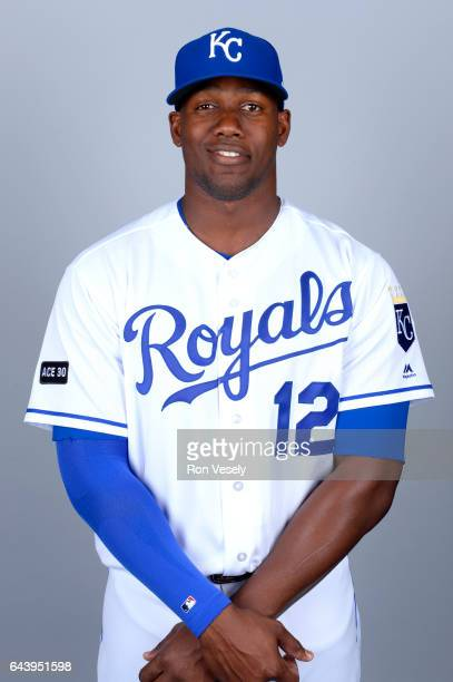 Jorge Soler of the Kansas City Royals poses during Photo Day on Monday February 20 2017 at Surprise Stadium in Surprise Arizona