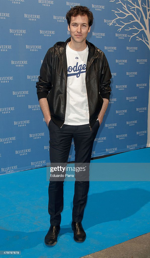 Jorge Suquet attends Belvedere Vodka party photocall at Principe Pio train station on March 20, 2014 in Madrid, Spain.
